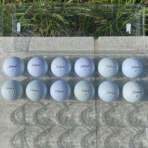 TITLEIST 🏌️♀️ 1 Dozen Golf Balls 🏌🏾♂️